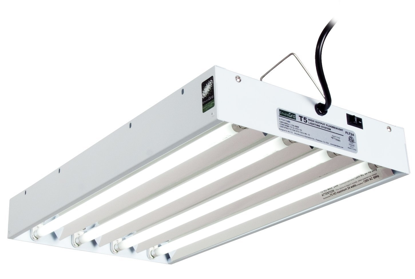 Fluorescent Tube Fixtures | Helpful Hydroponics